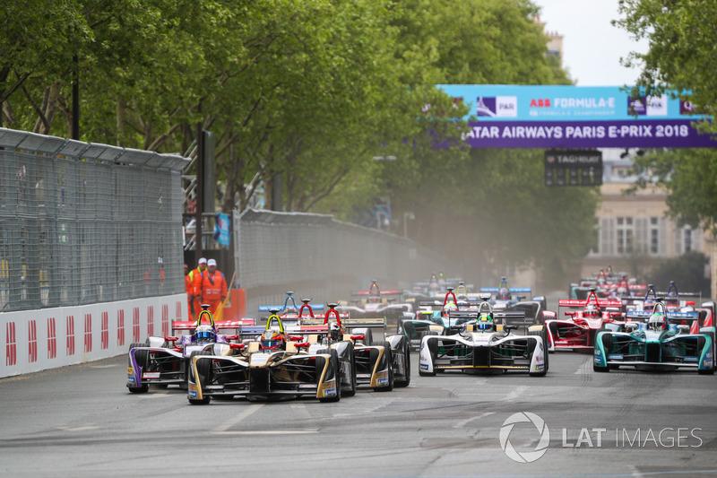 Start ePrix Paris 2017/18
