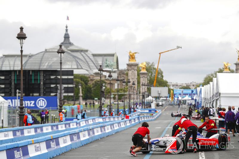 Felix Rosenqvist, Mahindra Racing, ritorna nel garage