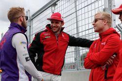 Sam Bird, DS Virgin Racing, Daniel Abt, Audi Sport ABT Schaeffler, Felix Rosenqvist, Mahindra Racing