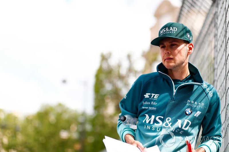 Tom Blomqvist, Andretti Formula E, mengitari lintasan