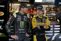 Ryan Blaney, Team Penske, Ford Fusion Menards/Richmond Kurt Busch, Stewart-Haas Racing, Ford Fusion Monster Energy / Haas Automation
