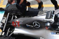 Mercedes-AMG F1 W09 motorkap