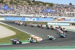 Start action, Jorge Martin, Del Conca Gresini Racing Moto3 leads