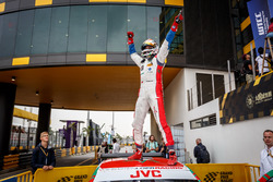 Racewinner Mehdi Bennani, Sébastien Loeb Racing, Citroën C-Elysée WTCC
