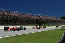 Sebastian Vettel, Ferrari SF70H op kop