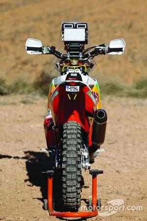Bike of Laia Sanz, KH-7 Rally Team