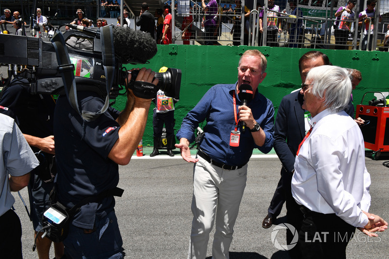 Martin Brundle, Sky TV, Bernie Ecclestone