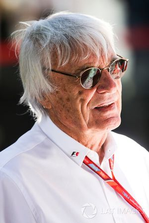 Bernie Ecclestone, Presidente Emérito de F1