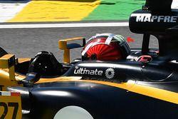 Элемент на шлеме Нико Хюлькенберга, Renault Sport F1 Team RS17