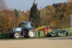 L'accident de #55 Dörr Motorsport: Jacobus Bartles