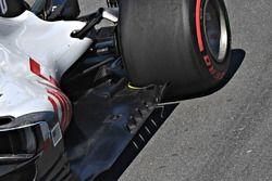Plancher de la Haas F1 Team VF-18