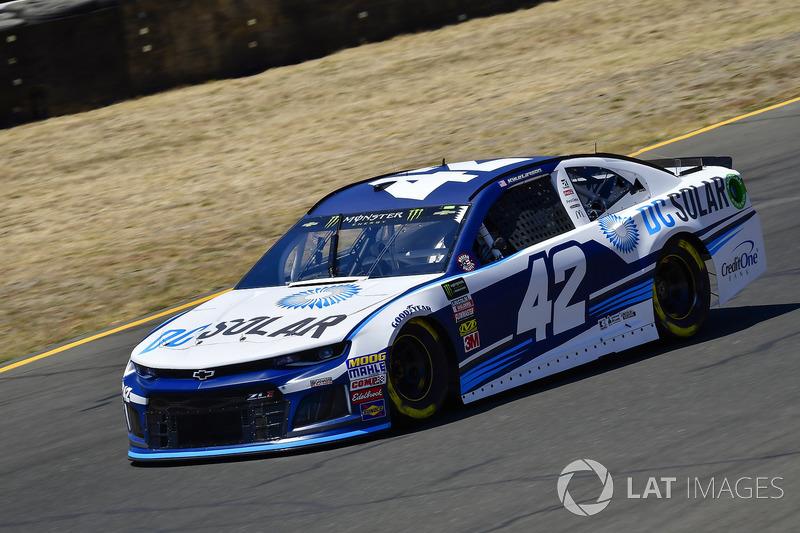 1. Kyle Larson, Chip Ganassi Racing, Chevrolet Camaro DC Solar