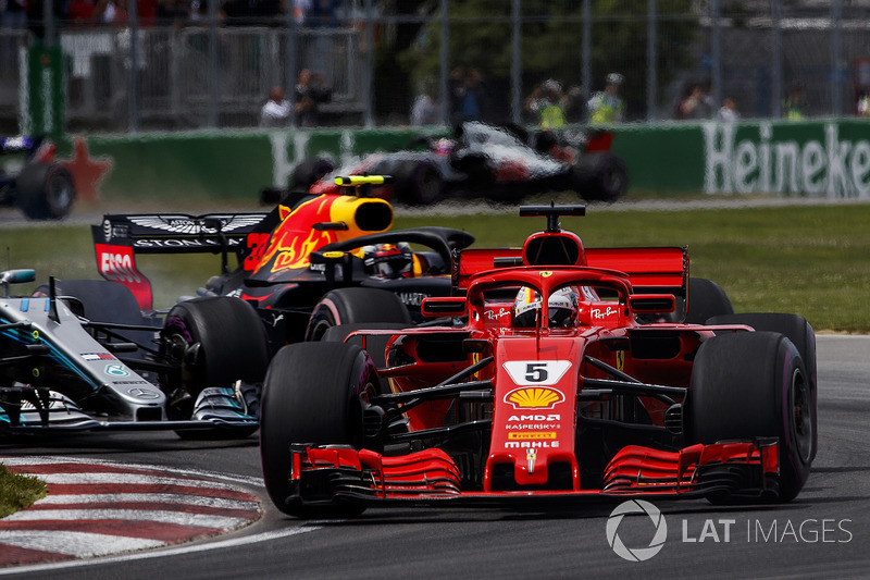 2018 Sebastian Vettel, Ferrari