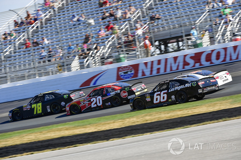 Tommy Joe Martins, B.J. McLeod Motorsports, Chevrolet Camaro, Christopher Bell, Joe Gibbs Racing, Toyota Camry Rheem, Timmy Hill, Motorsports Business Management, Chevrolet Camaro TLC Resorts Chevrolet