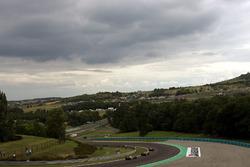 Felipe Massa, Ferrari 248 F1, Mark Webber, Williams FW28 e Kimi Raikkonen, McLaren Mercedes MP4/21