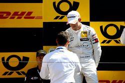 Podio: il secondo classificato Paul Di Resta, Mercedes-AMG Team HWA e Pierre Kaffer