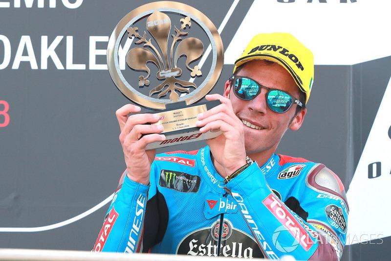 Podio: tercer puesto Joan Mir, Marc VDS Moto2