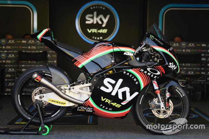 Dennis Foggia, Sky Racing Team VR46, livrea speciale per il Mugello