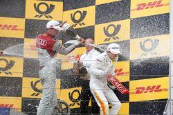 Podium: Nico Müller, Audi Sport Team Abt Sportsline, Lucas Auer, Mercedes-AMG Team HWA