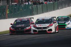 Jens Reno Møller, Reno Racing, Honda Civic Type R TCR, Attila Tassi, Hell Energy Racing con KCMG Honda Civic Type R TCR