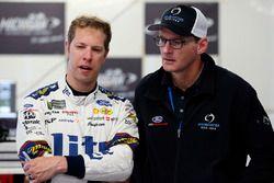 Brad Keselowski, Team Penske, Ford Fusion Miller Lite and Doug Yates