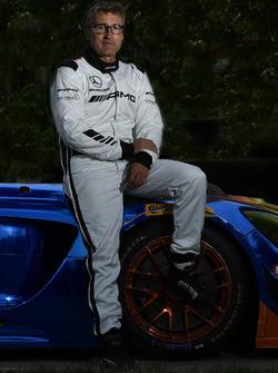 #75 SunEnergy1 Racing Mercedes AMG GT3, GTD: Bernd Schneider