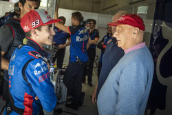 Marc Marquez and Niki Lauda