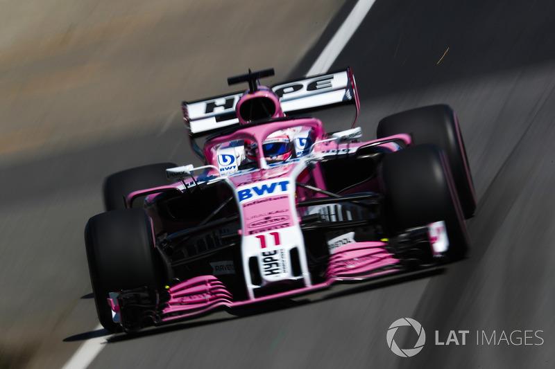 Sergio Perez, Force India VJM11.