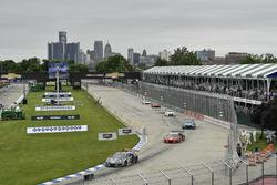 #86 Michael Shank Racing with Curb-Agajanian Acura NSX, GTD: Katherine Legge, Mario Farnbacher, #93 Michael Shank Racing with Curb-Agajanian Acura NSX, GTD: Lawson Aschenbach, Justin Marks