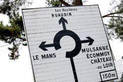 شعار الطريق الى لومان