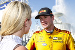 Ryan Hunter-Reay, Andretti Autosport Honda, Winnaar
