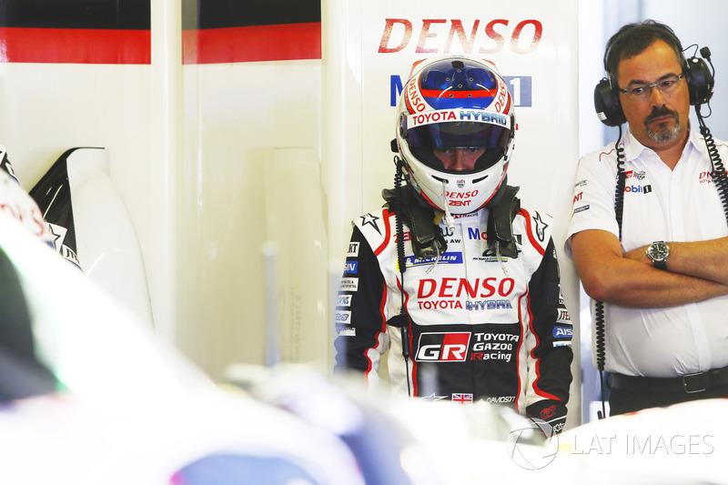 #8 Toyota Gazoo Racing Toyota TS050: Anthony Davidson