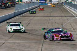 #71 P1 Motorsports Mercedes AMG GT3, GTD: Kenton Koch, Juan Perez, Loris Spinelli