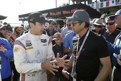 Patrick Dempsey, Helio Castroneves, Acura Team Penske