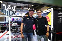Max Verstappen en Martin Garrix