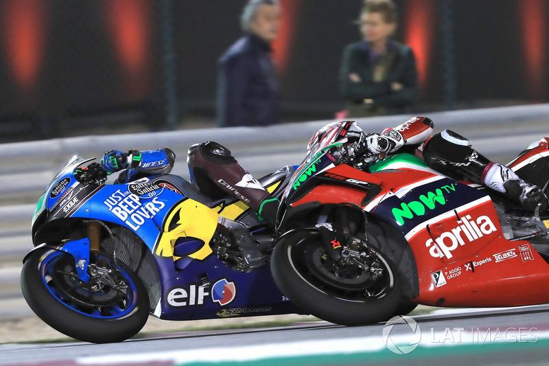 Франко Морбіделлі, Estrella Galicia 0,0 Marc VDS, Алейш Еспаргаро, Aprilia Racing Team Gresini