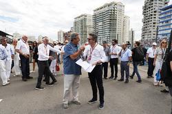 Alejandro Agag, CEO de Fórmula E, en la parrilla