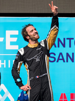Race winner Jean-Eric Vergne, Techeetah