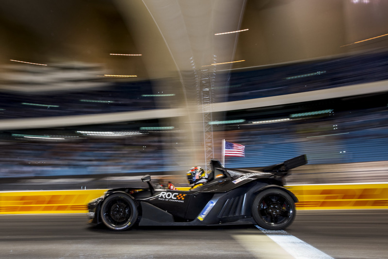 Ryan Hunter-Reay of Team USA driving the KTM X-Bow Comp R
