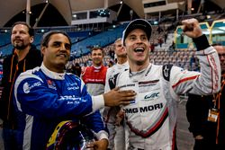 Juan Pablo Montoya of Team Latin America and Timo Bernhard of Team Germany
