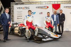 Adrian Campos, Leonardo Pulcini, Luca Ghiotto, Salvatore Gandolfo und Serkan Kajan, Campos Racing