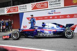Brendon Hartley, Scuderia Toro Rosso STR13, la nuova Scuderia Toro Rosso STR13