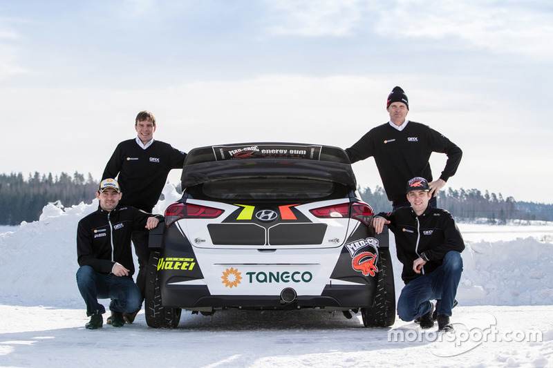Тимур Тимерзянов и Никлас Гронхольм, GRX Taneco Team