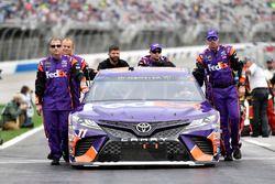 Denny Hamlin, Joe Gibbs Racing, FedEx Ground Toyota Camry