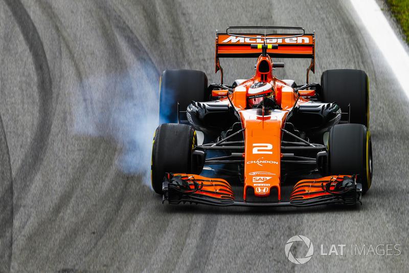 Stoffel Vandoorne, McLaren MCL32 (6 abandonos)