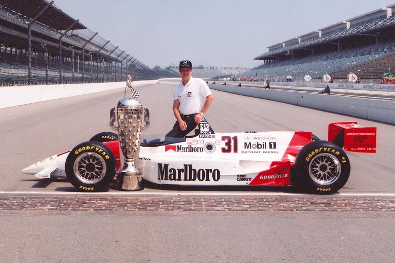 1994: Al Unser Jr. siegt mit dem Stock-Block-Motor von Mercedes