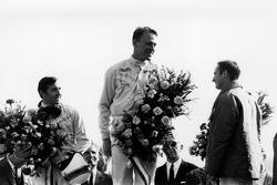 Podium: 1. Dan Gurney, Eagle; 2. Jackie Stewart, BRM; 3. Chris Amon, Ferrari