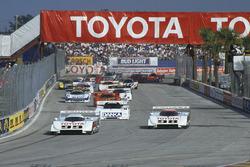 Старт: Хуан-Мануэль Фанхио II, Eagle MkIII Toyota и Пи-Джей Джонс, Eagle MkIII Toyota