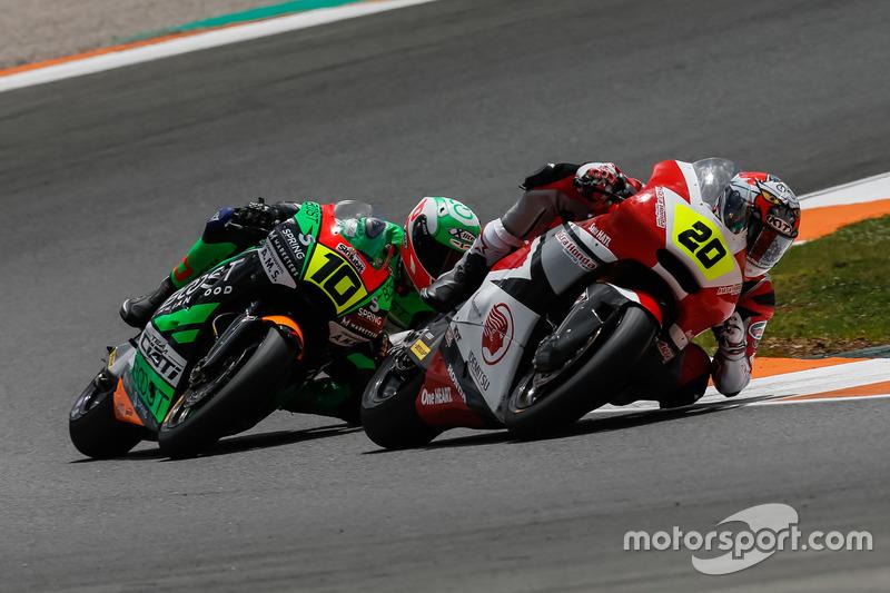 Dimas Ekky, Astra Honda Racing Team dan Tomasso Marcon, Team Ciatti