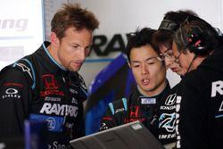 ジェンソン・バトン & 山本尚貴 Jenson Button & Naoki Yamamoto